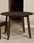Intercon Solid Mango Wood Drop Leaf Dining Table Kona INKA4242DTAB