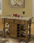 "Intercon Solid Oak 48"" Server Monastery INMY4824GR"
