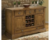 "Intercon Solid Oak 55"" Server Monastery INMY5536"