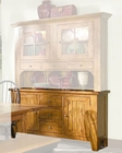Intercon Solid Oak Buffet Rustic Traditions INRT6035