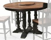 Intercon Solid Oak Counter Height Table Gramercy Park INGP5454GTAB