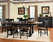 Intercon Solid Oak Dining Set Gramercy Park INGP4296SET