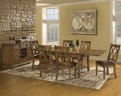 Intercon Solid Oak Dining Set Monastery INMY42100RSET