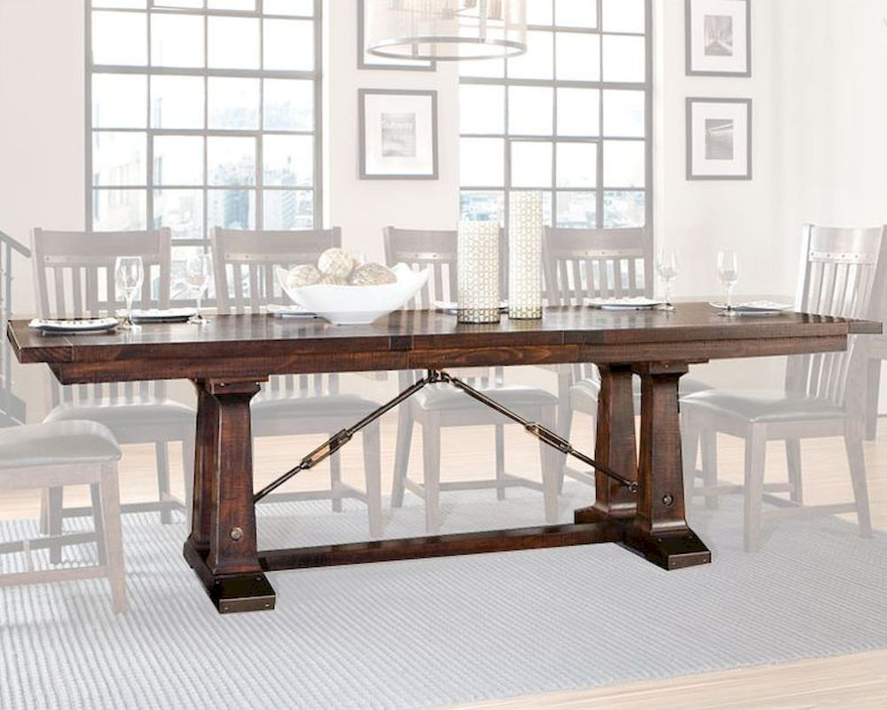 Intercon Solid Pine Dining Table Hayden INHY42100TAB