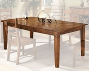 Intercon Solid Rubberwood Dining Table Scottsdale INSC4278TAB