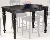 Intercon Solid Wood Counter Height Table Roanoke INRN5454GTAB