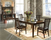 Intercon Solid Wood Dining Set Kashi INKI4278SET