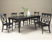 Intercon Solid Wood Dining Set Roanoke INRN4478SET