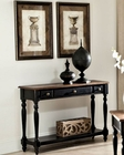 Intercon Solid Wood Sofa Table Gramercy Park INGPTA4816
