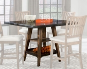 Intercon Square Gathering Table Lucca INLU-TA-4848G-RBS-C