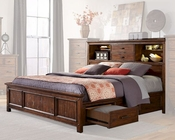 Intercon Storage Bed Wolf Creek INWK-BR-6190BED