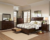 Intercon Storage Bedroom Set Jackson INJK5050STSET