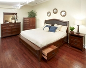 Intercon Storage Bedroom Set Star Valley INSR-BR-6230SET