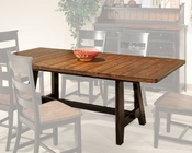 Intercon Trestle Dining Table Winchester IN-WN-TA-4285-BHN-TAB