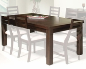 Intercon Urban Loft Solid Hardwood Dining Table INUL4296BTAB