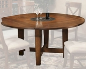 Intercon Verona Solid Birch Dining Table INVC4646TAB