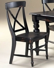 Intercon X-Back Side Chair Roanoke INRNCH725W (Set of 2)