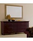 Italia Double Dresser w/ Mirror 44B217DM