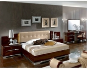 Italian Bedroom Set Matrix Contemporary Style 3313MT