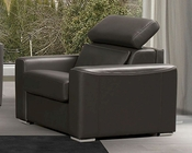 Italian Leather Pontiac Chair ESFPOC