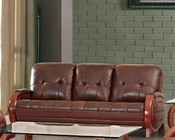 Italian Leather Sofa European Design 33SS202