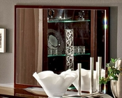Italian Mirror in Walnut Roma 33280RO