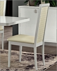 Italian White Side Chair Roma 33222RM (Set of 2)