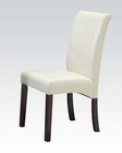 Ivory Side Chair Ripley by Acme Furniture AC71365 (Set of 2)