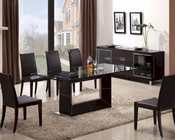 J&M Elegance Dining Set & Colibri Chairs JM-SKU178141SET