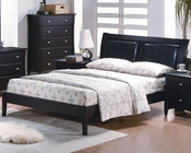 J&M Full/Queen/King Platform Bed Expresso JM-SKU17518BED
