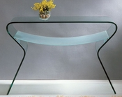 J&M Glass Console Table 505 JM-SKU1751510
