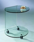 J&M Glass End Table 032 JM-SKU1751512