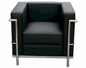 J&M Italian Leather Armchair Cour JM-SKU17655CHR