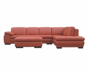 J&M Italian Leather Sectional 625 JM-SKU175443111