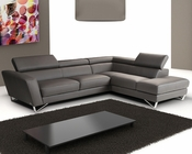 J&M Italian Leather Sectional Sparta JM-SKU17691