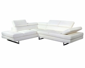 J&M Leather Sectional Arezzo JM-SKU17824
