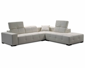 J&M Leather Sectional London JM-SKU17694