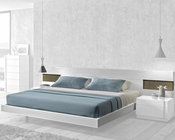 J&M Queen/King Platform Bed Amora JM-SKU17869BED
