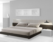 J&M Queen/King Platform Bed Porto JM-SKU17867BED