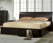 J&M Queen/King Platform Bed Zen JM-SKU1754428BED