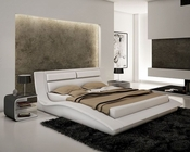 J&M Wave Bedroom Set in White JM-SKU178361SET