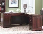 "Lawrenceville Classic ""L"" Shaped Computer Desk CO800572"