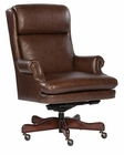 Leather Executive Chair in Coffee Finish by Hekman HE-79252C