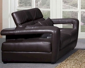 Leather Loveseat European Design 33SS213