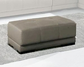 Leather Ottoman 33LS92