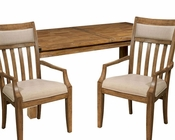 Light Rustic Dining Set Harbor Springs by Hekman HE-942501RL-SET