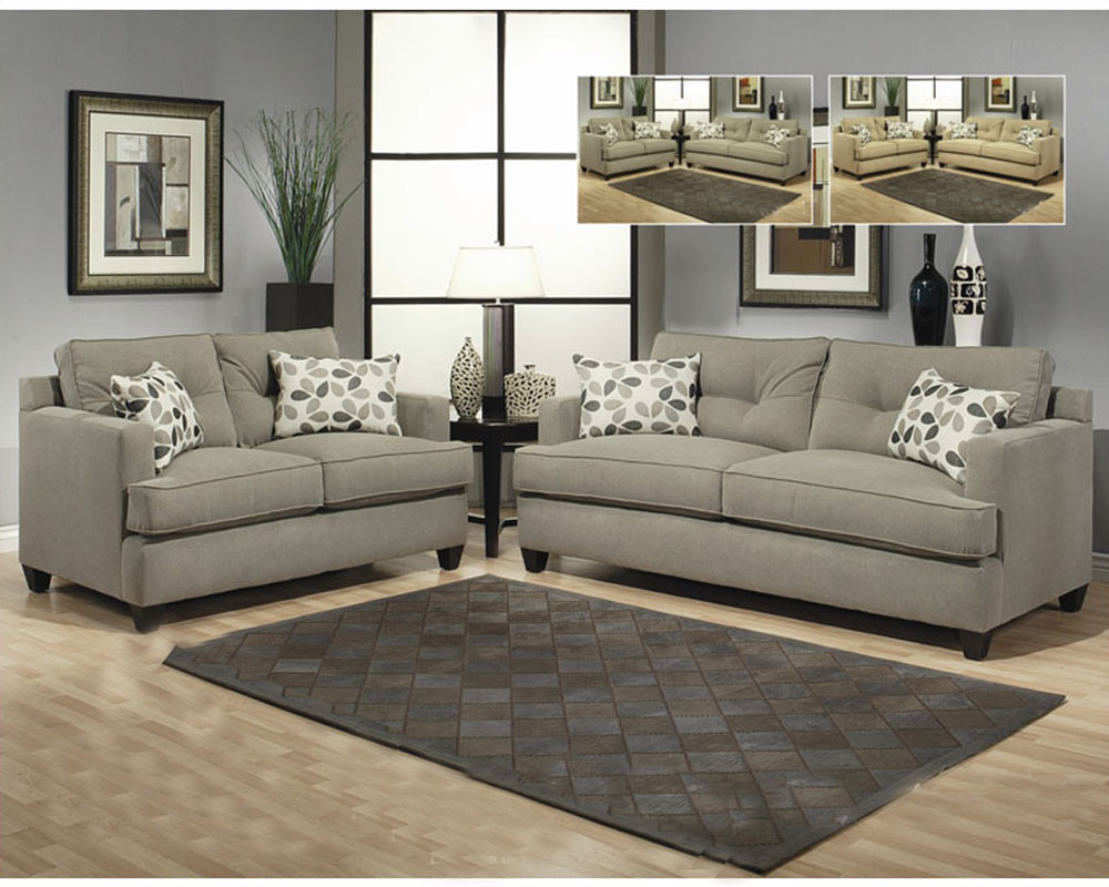 living room set aukland in gray finish bh 47ss11