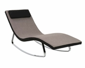 Lounge Chair in Fabric Luciana by Euro Style EU-38650GRY
