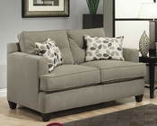 Loveseat Aukland in Gray Finish BH-47SS13