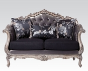 Loveseat in Antique Platinum Chantelle by Acme Furniture AC51541
